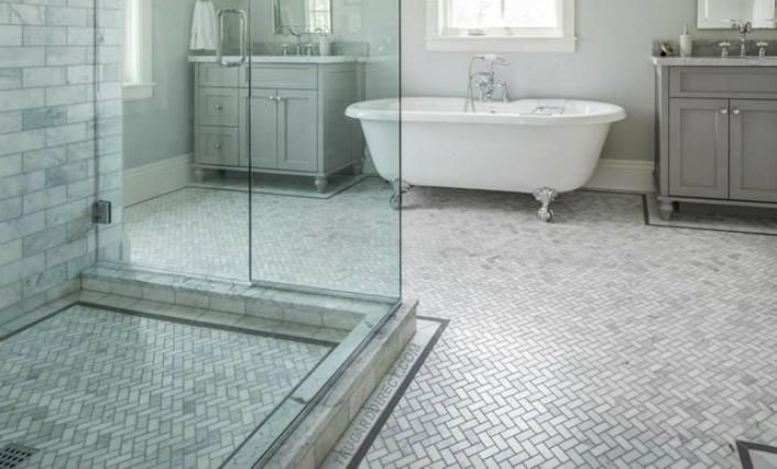 Behind Every Dream Bath Or Dream Shower Is A Waterproof Membrane That Protects Your Home From Moisture Bathroom Redesign Bathroom Floor Tiles Tile Bathroom