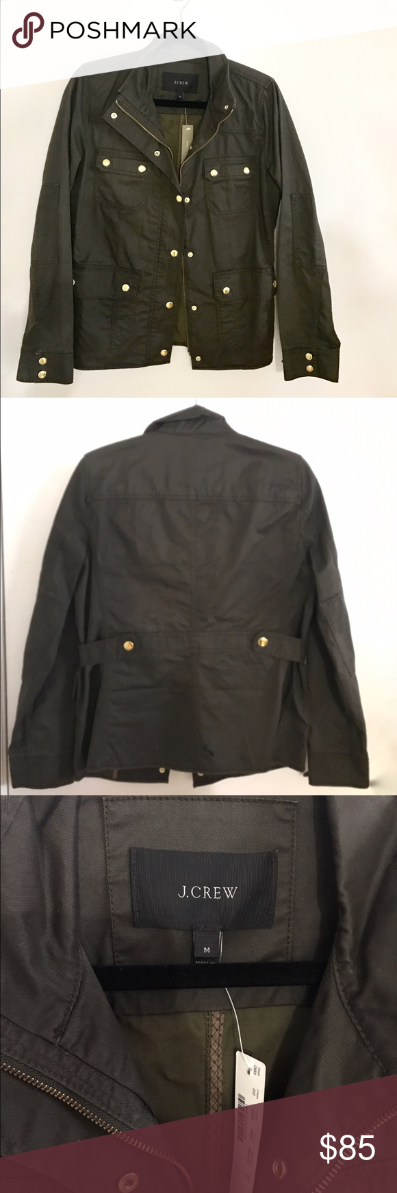 New with tag J Crew Dowtown Field Jacket (M) New with tag, in perfect condition from J Crew. size Medium and perfect for spring! J. Crew Jackets & Coats