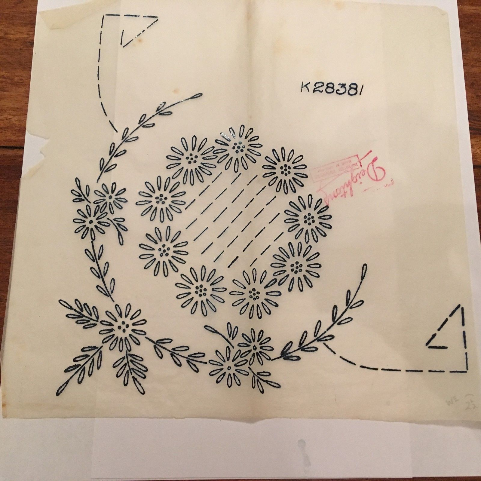 Vintage Style Iron on Transfers Moda Home Embroidery Cross Stitch Kitch/'n Stitch