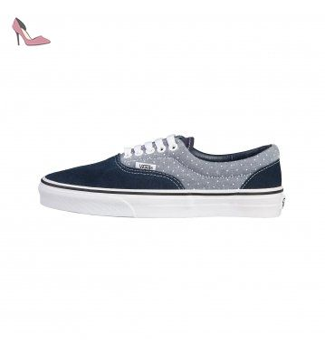 Vans U ERA Chaussures Mode Sneakers Unisex Cuir Suede Bleu VANS T:38 -  Chaussures
