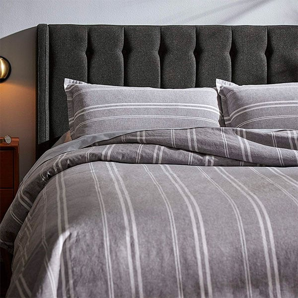 The 13 Best Picks For Masculine Bedding Comforters Duvet Covers And Blankets For Men With Style Masculine Bedding Chic Bedroom Design Masculine Bedroom
