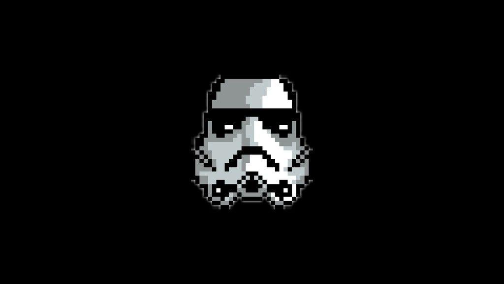 Stormtrooper Star Wars Pixel Artwork Wallpaper Pixel Art