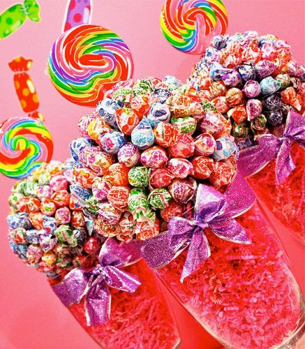 This looks like a 'dangerous' spot - but YUMMM! Who doesn't Like Candy!