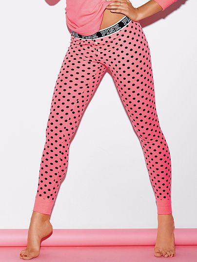 2e31266f5e306 Thermal Sleep Legging - PINK - Victoria's Secret   Beauty   Women's ...