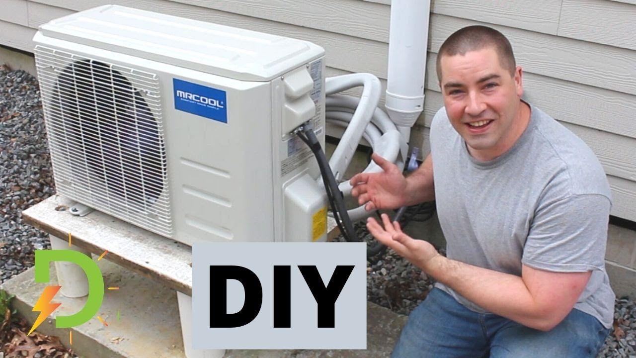 Installing My Own MiniSplit Heat Pump, DIY YouTube in