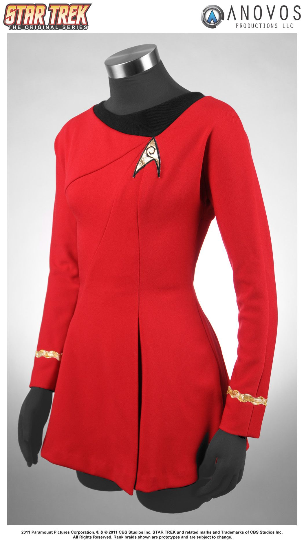Uhura S Uniform The Real Thing Star Trek Cosplay Female Star Trek Uniforms Uhura Costume