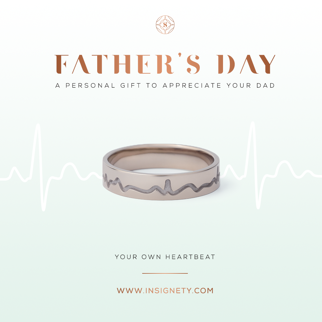 the best personal fathersday gift starts here insignetyring