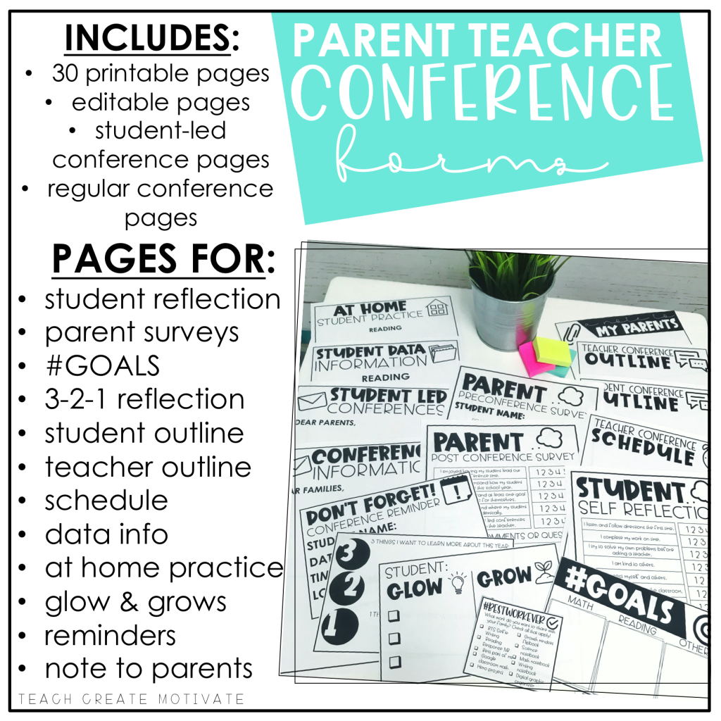 The Power Of Student Led Conferences With Images
