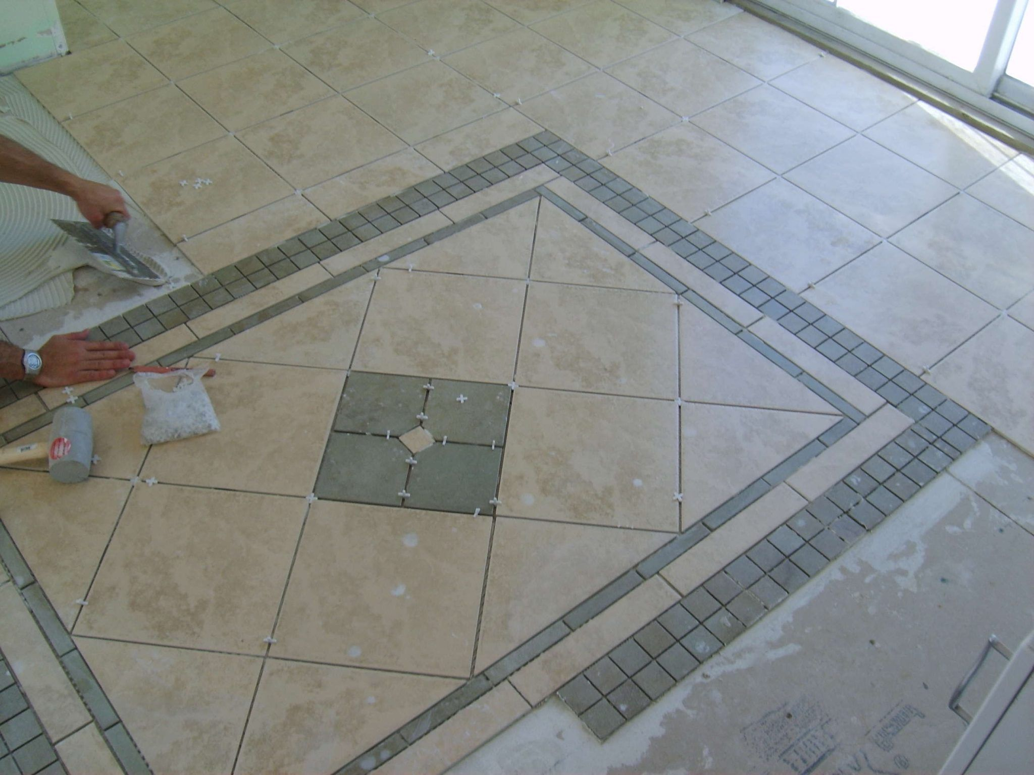 Image result for x tile herringbone pattern bathroom