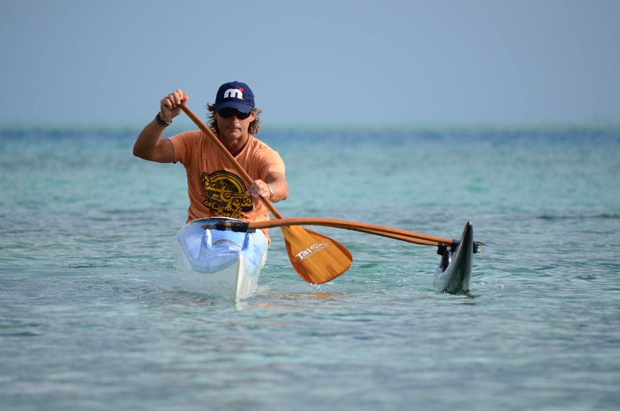 The Scorpius XS Hawaiian Ocean Canoe by Kai Bartlett Paddling