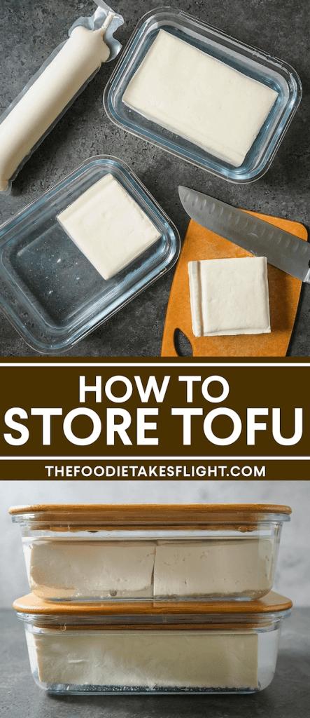 How To Store Tofu Recipe In 2021 Tofu Vegan Recipes Easy Simple Ingredient