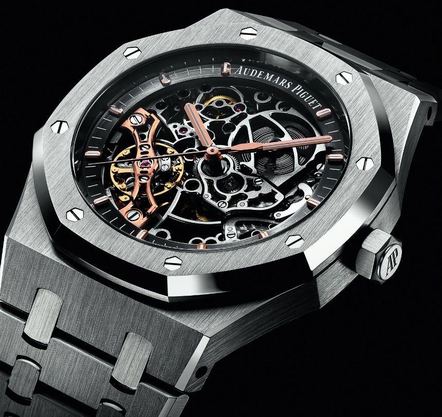 198b0713264 Audemars Piguet Royal Oak Double Balance Wheel Openworked Watch ...