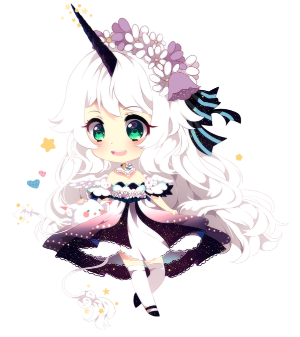 Manga Kawaii Licorne Cute Anime Chibi Kawaii Anime