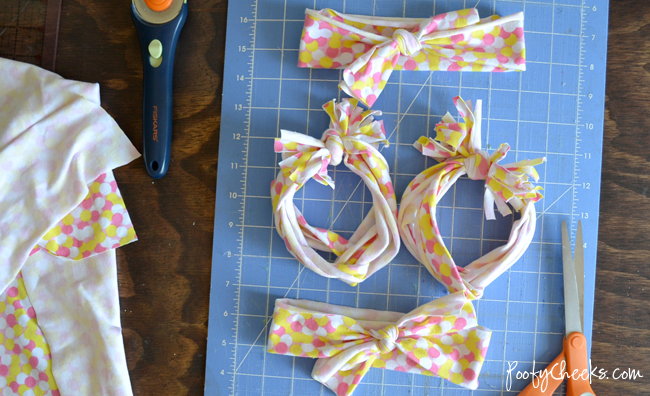 How to make no-sew jersey knit headbands