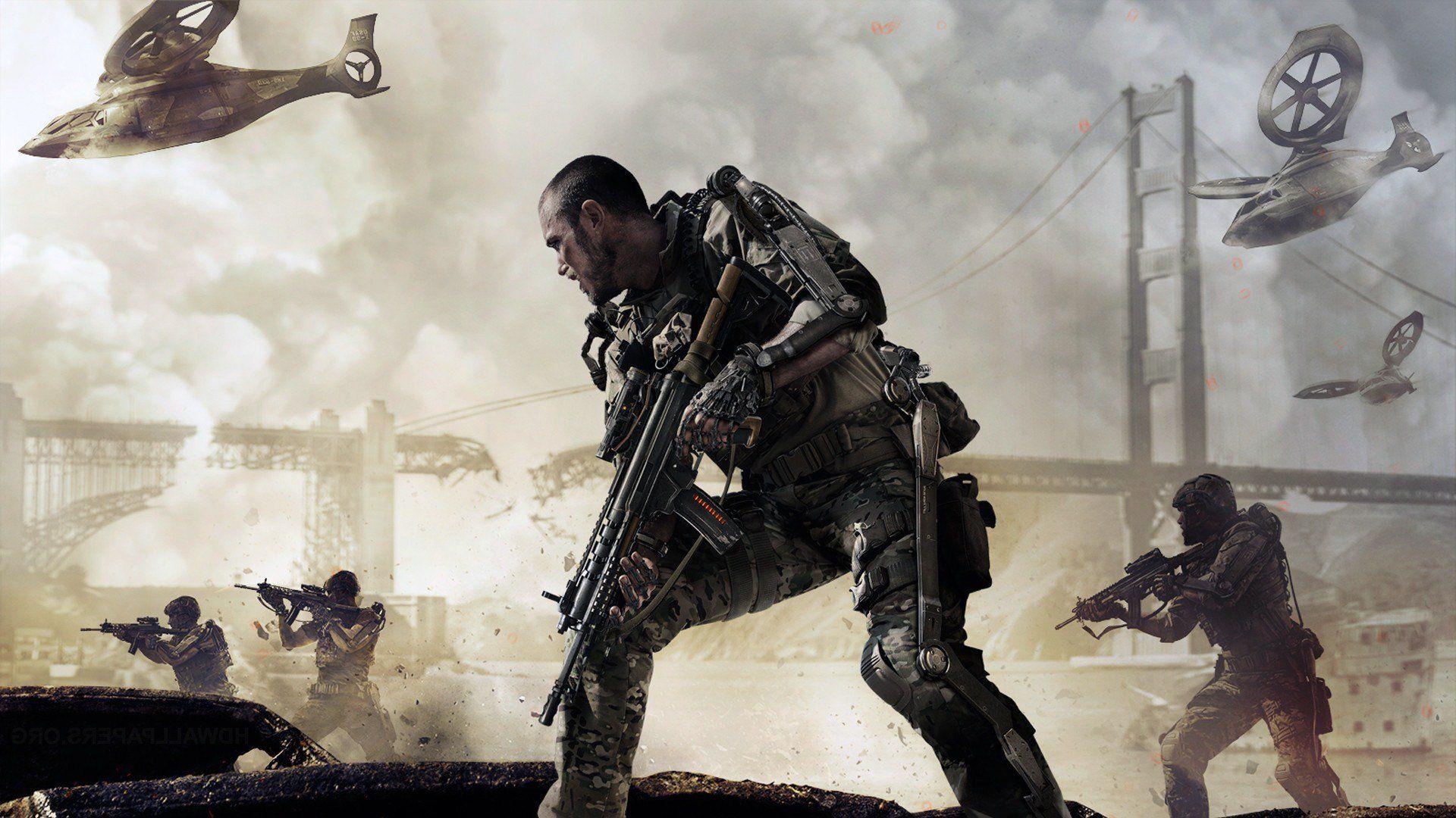 Call Of Duty Advanced Warfare Hd Desktop Wallpaper High Hd