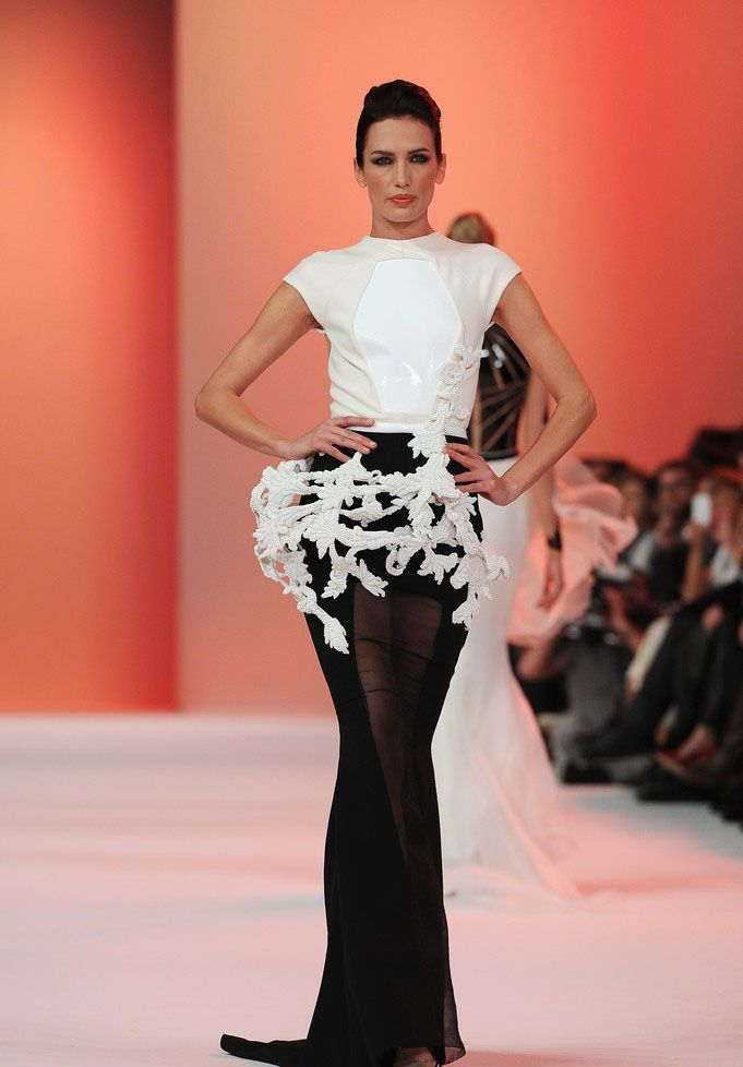 Stephane rolland s s 2014 haute couture stephane rolland for What does couture mean in french