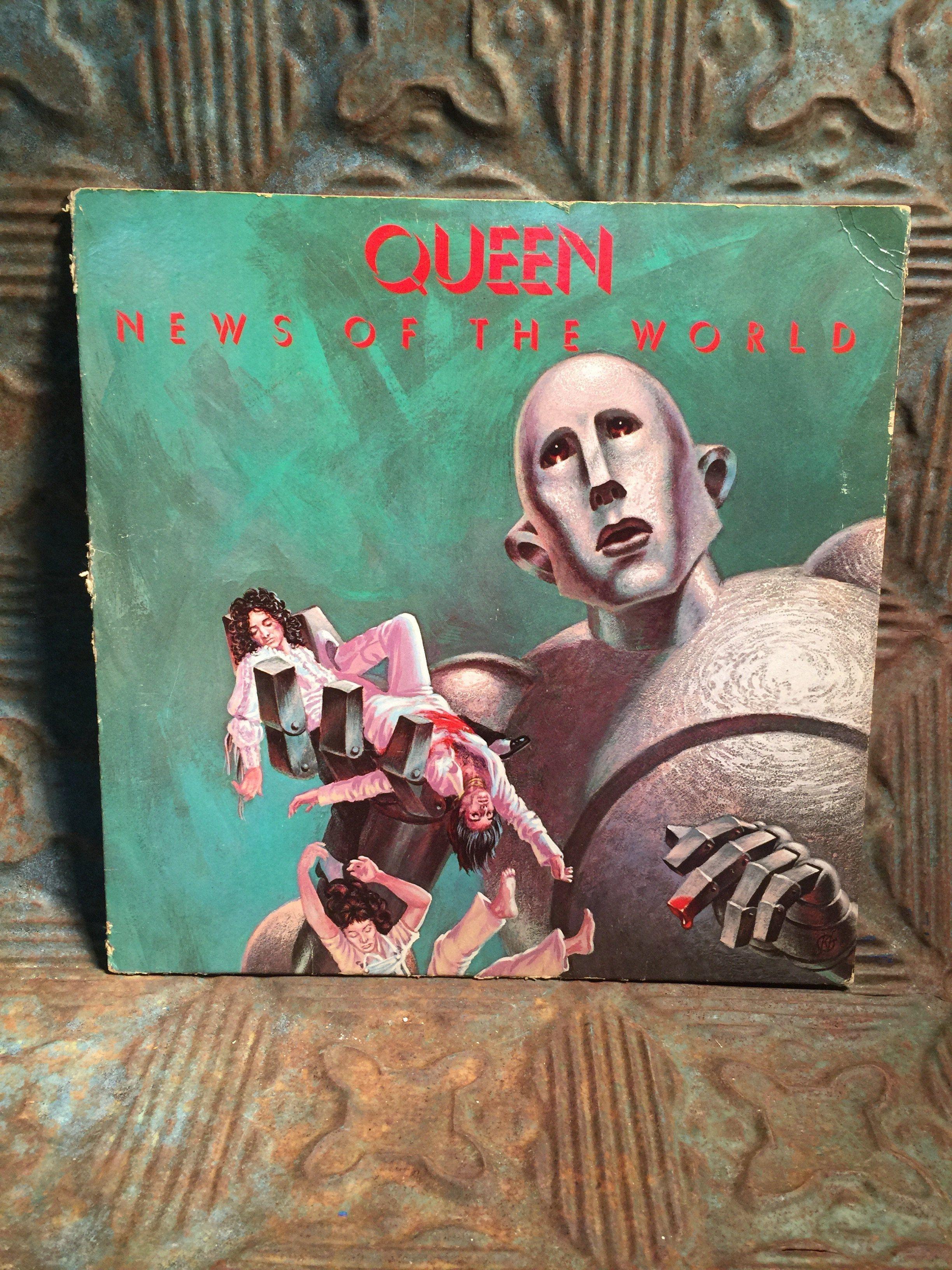Queen 1977 News Of The World Vinyl Lp Record Album Vinyl Records