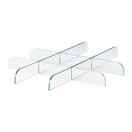 Komplement Verdeler Voor Uittrekbare Plank Transparant
