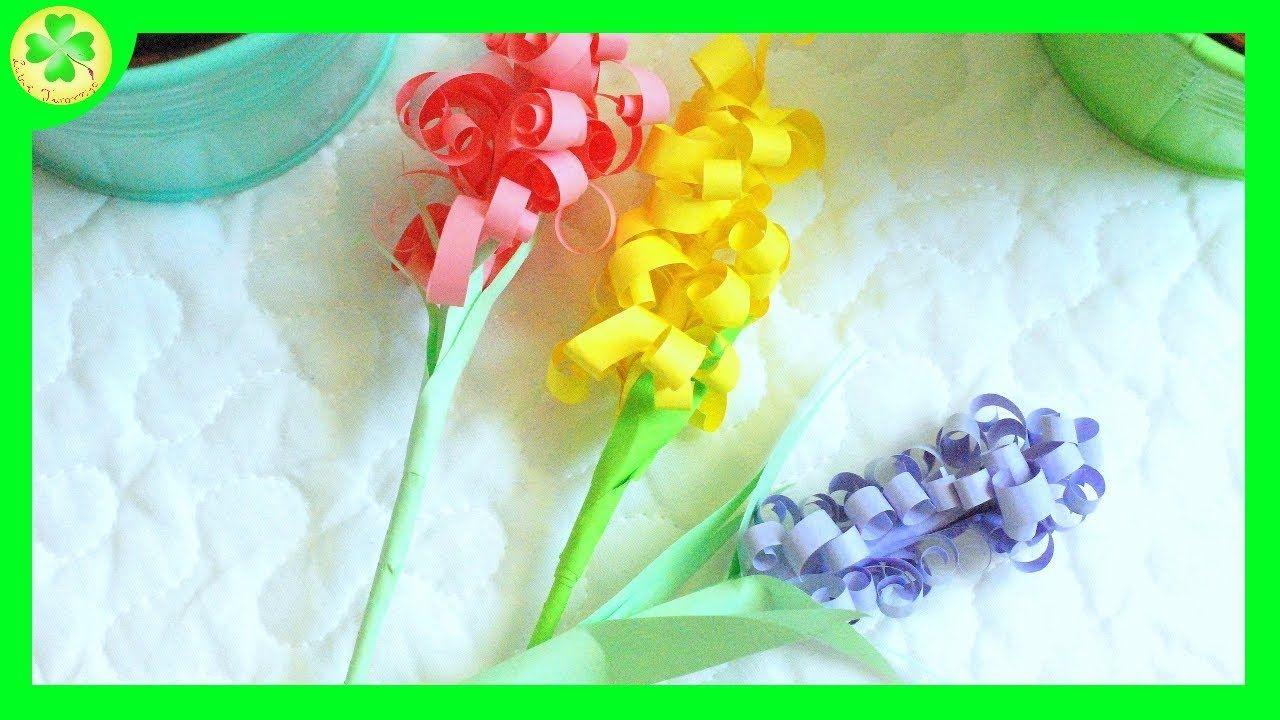 Jak Zrobic Papierowy Hiacynt How To Make A Paper Hyacinth Paper How To Make Hyacinth