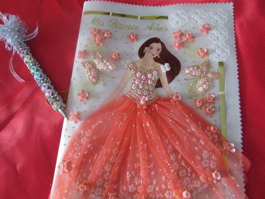15 Anos Dolls: LIBRO DE FIRMAS Y BOLÍGRAFO PARA 15 AÑOS