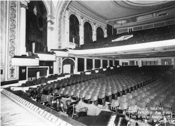Palace Theater In Youngstown Oh Cinema Treasures Youngstown Ohio History