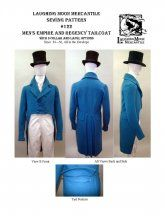 Men's Regency Tailcoat (1806-1820) Pattern