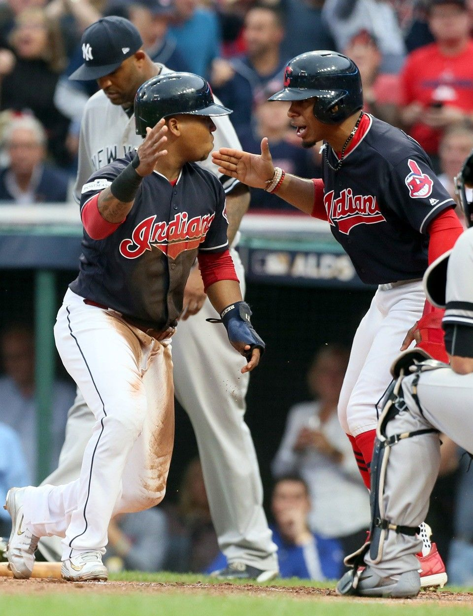 Indians 9 Yankees 8 Winners And Losers From Alds Game 2 October 6 2017 Cleveland Indians Jose Ramirez 11 And Tea Cleveland Indians Indians Yankees