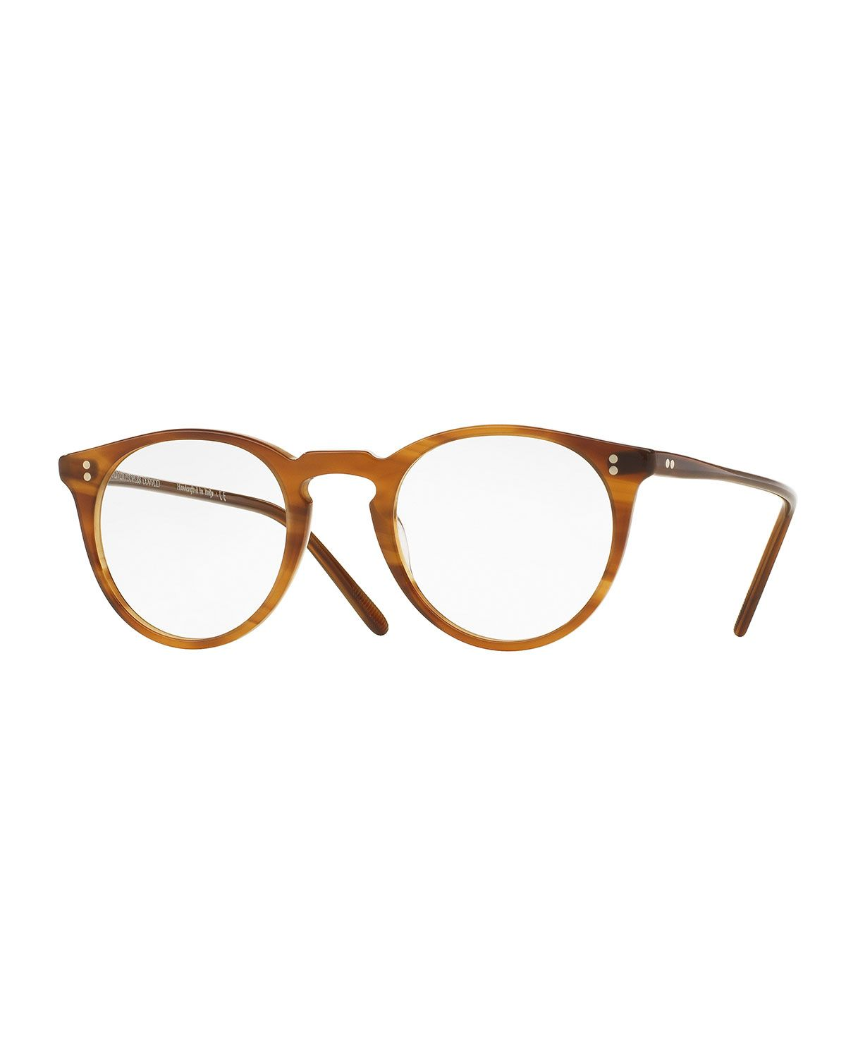 O\'Malley Round Optical Frames, Brown - Oliver Peoples | *Vision Care ...