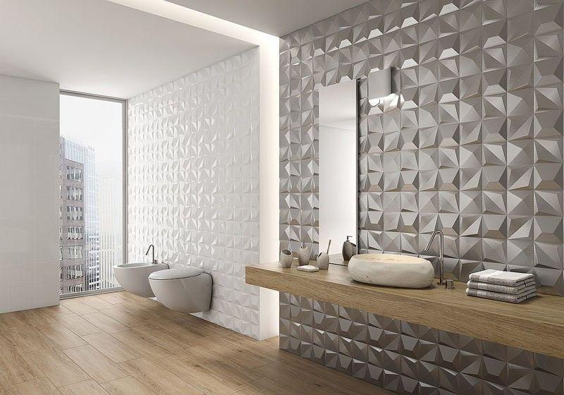 Badezimmer Fliesen Ideen Installieren 3d Fliesen Zu Hinzufugen Textur Ihr Bad Die Metallische Flies Badezimmer Fliesen 3d Fliesen Badezimmer Fliesen Ideen
