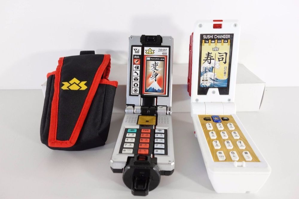 Power Rangers Shinkenger Samurai Shodo Phone Holster Sushi Dx