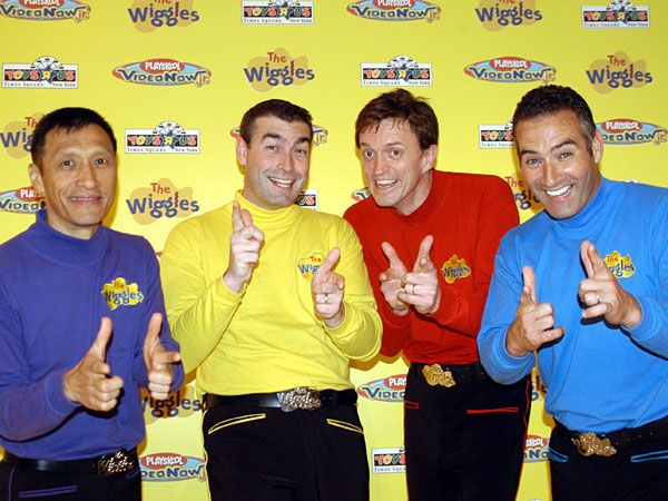 Are You Going To Have To Do That In All The Pictures Too The Wiggles 2000s Kids Shows Australia Funny