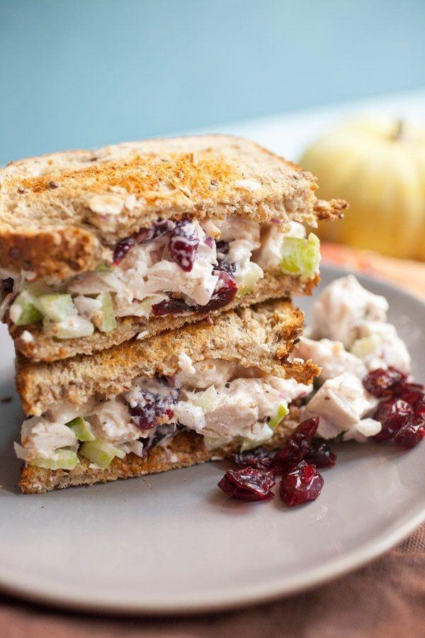 Photo of Leftover turkey salad sandwiches