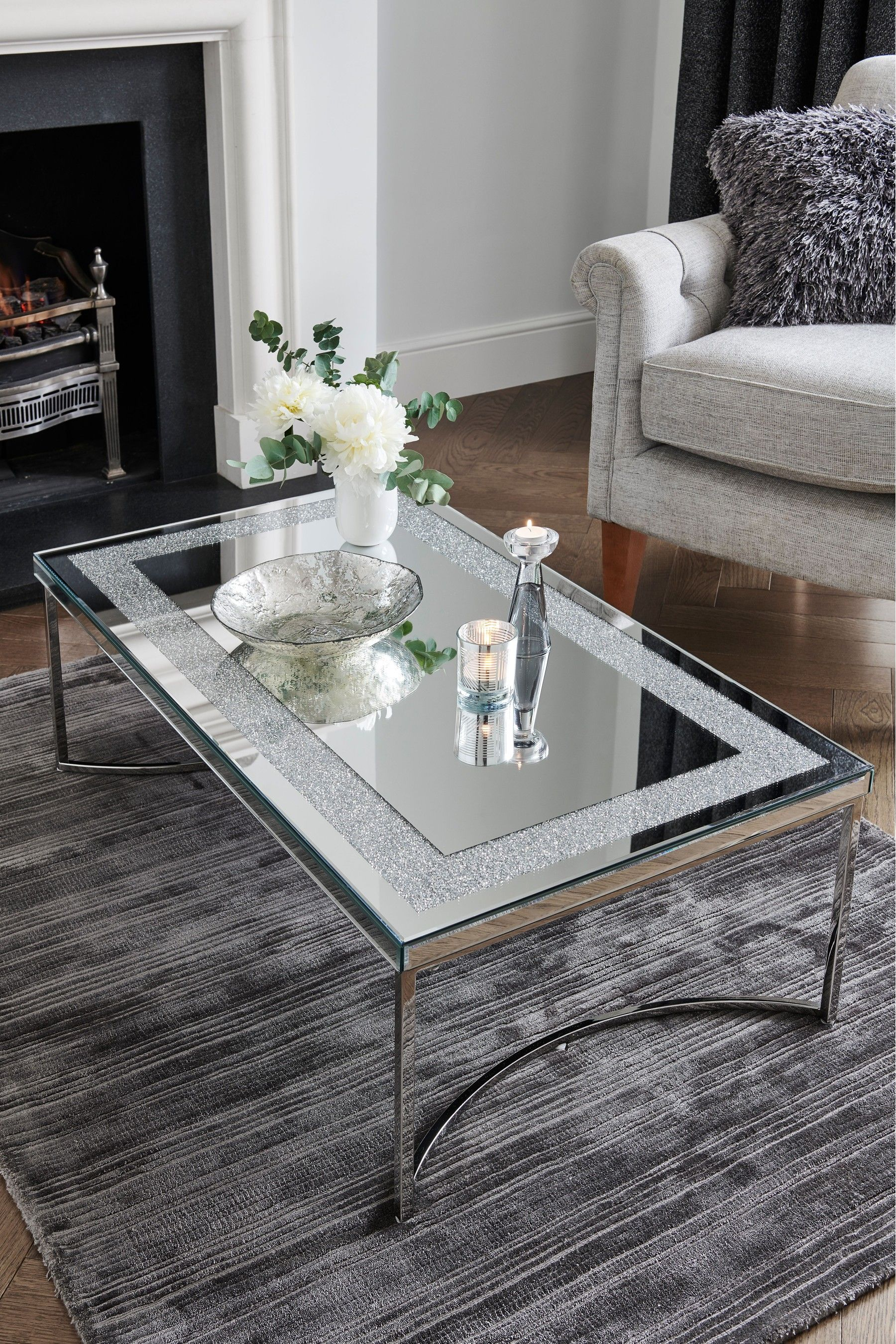 Buy Portia Coffee Table From The Next Uk Online Shop In 2020 Coffee Table Glass Coffee Table Decor Glass Table Living Room #silver #tables #for #living #room