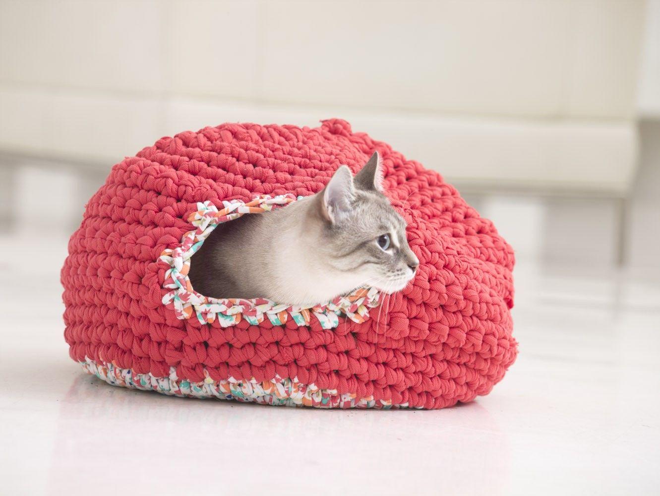 Psy And Thai\'s Kitty Cozy (Crochet) | Tejidos | Pinterest | Tejido