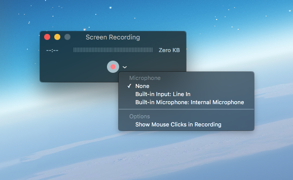 It is really easy to record the screen of your Mac now