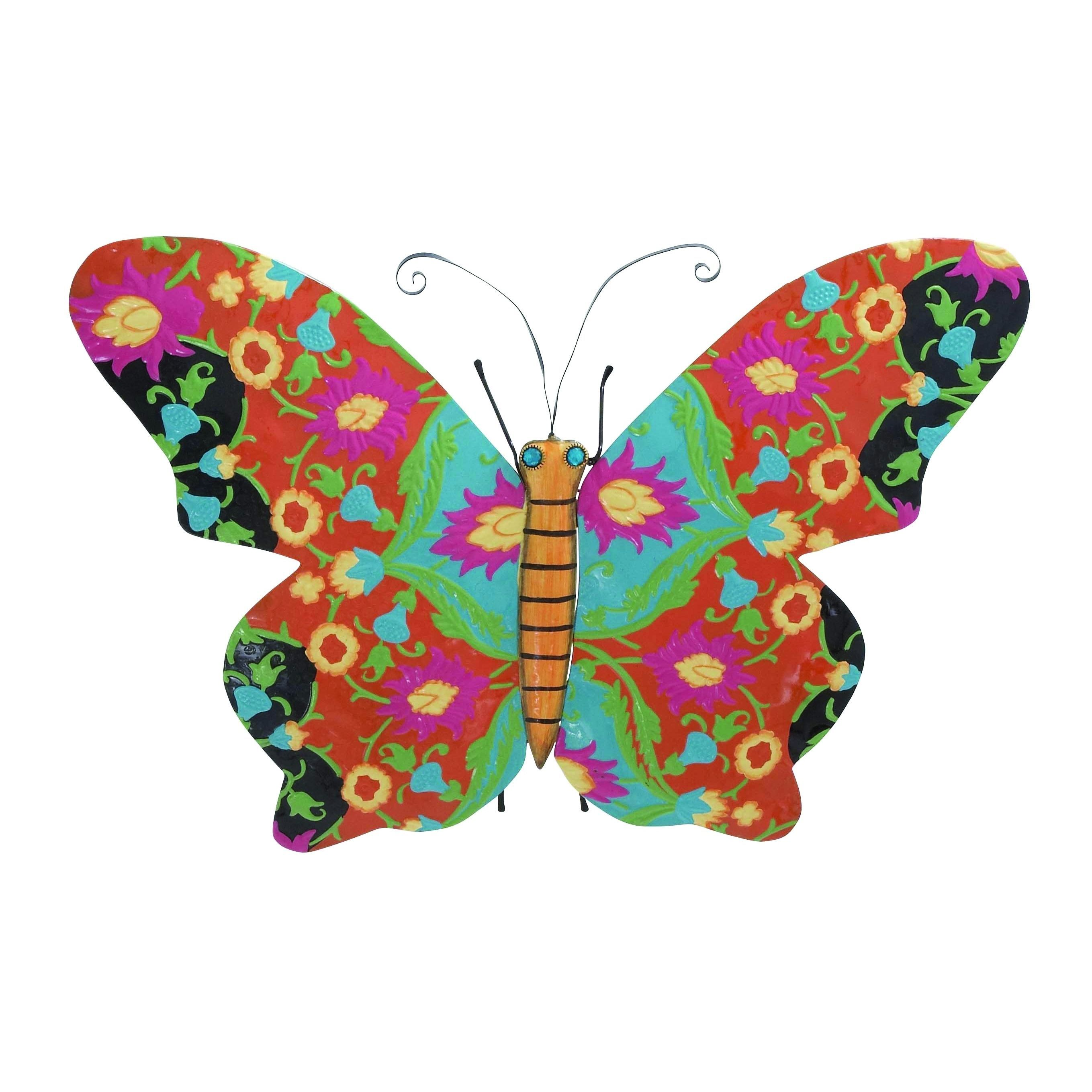 Metal Butterfly Shaped Decor With Texture And Rich Design · Natural TextureHome  Decor AccessoriesFloral ...