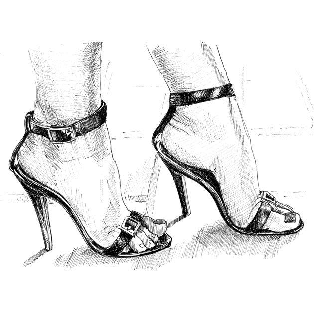 Sketches high heels   high heels   Heels, Shoe art, Shoes