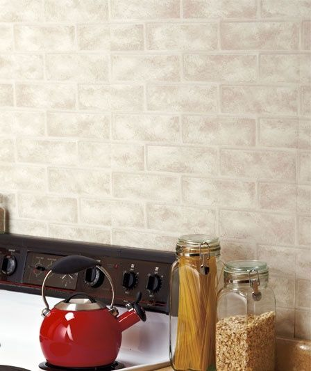 Textured Decorative Prepasted Wall Covering Looks So Real