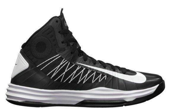 Mens Nike Hyperdunk 2012 Basketball Shoes Black Black