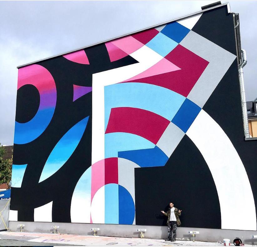 Tavar Zawacki In Giessen Germany 2017 Mural Street Art Art