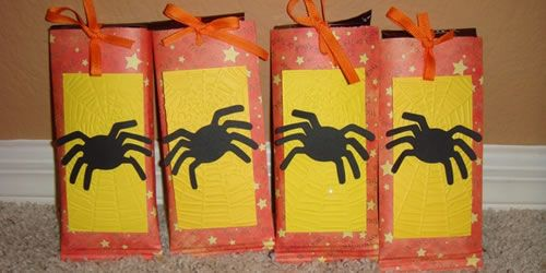 Cricut Halloween Candy Bar Wrappers Halloween Crafty Ideas - halloween treat bag ideas