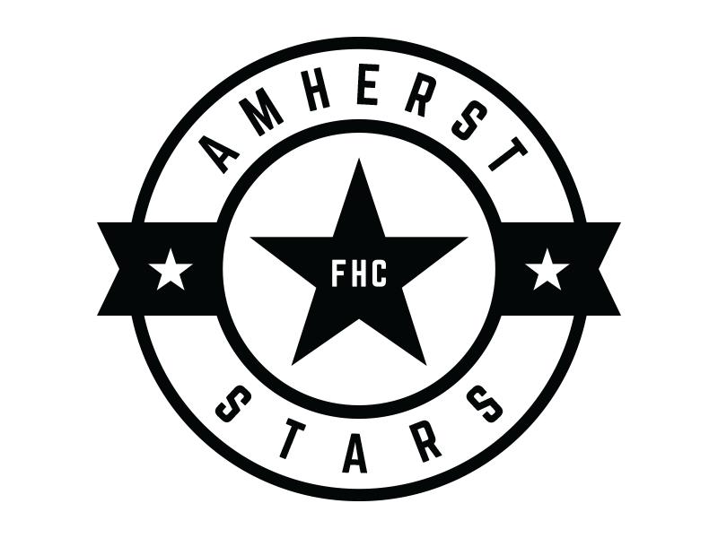 Amherst Stars Logo V4 Star Logo Logos Sports Logo