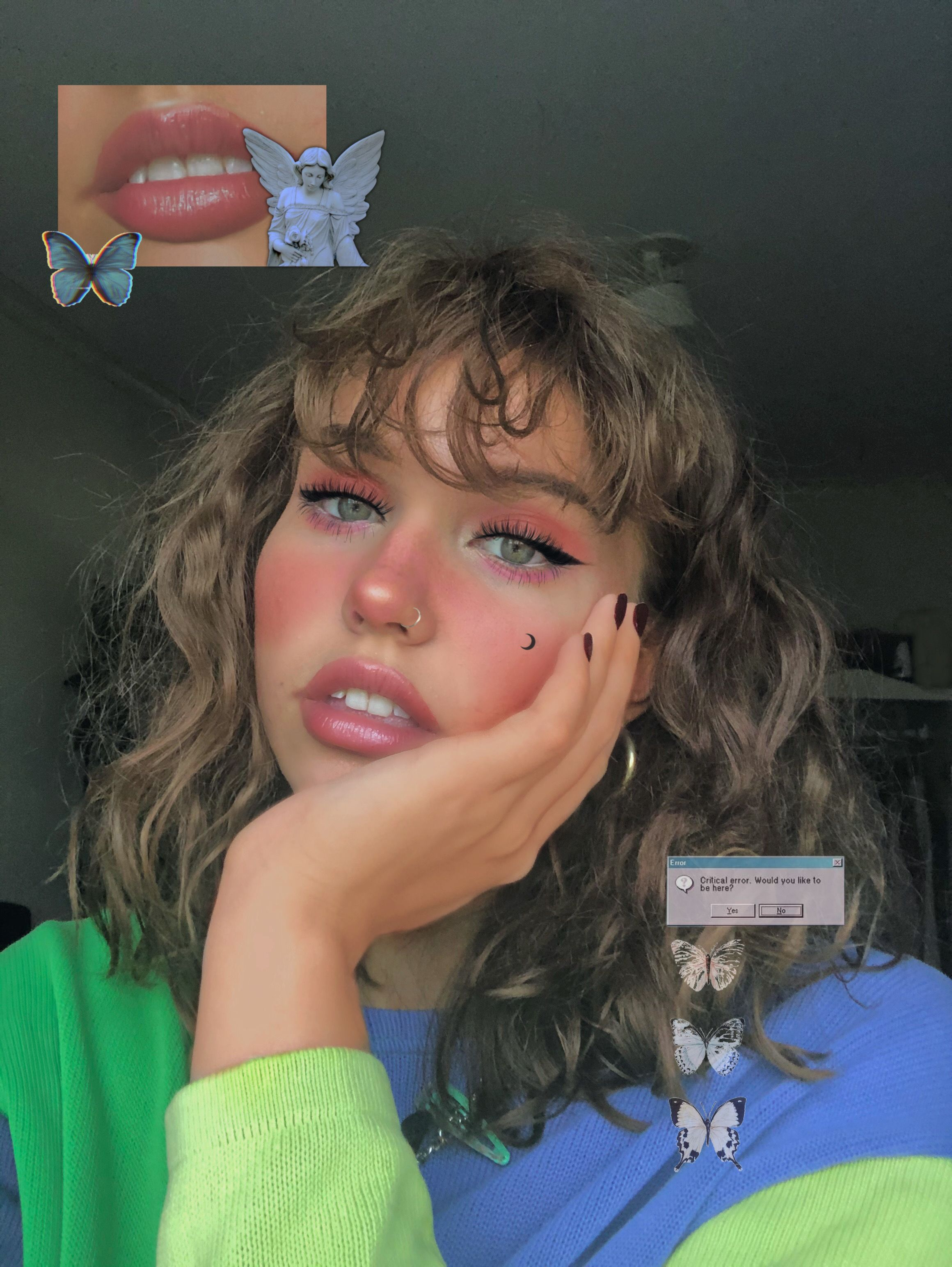 Pink Hair Egirl Powerpuff Girls Hair Color Streaks Aesthetic Hair Hair Streaks