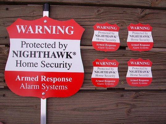 Home Security Yard Sign Home Security Yard Sign Convincing A