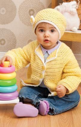Sunshine Cutie Free Crochet Pattern from Red Heart Yarns