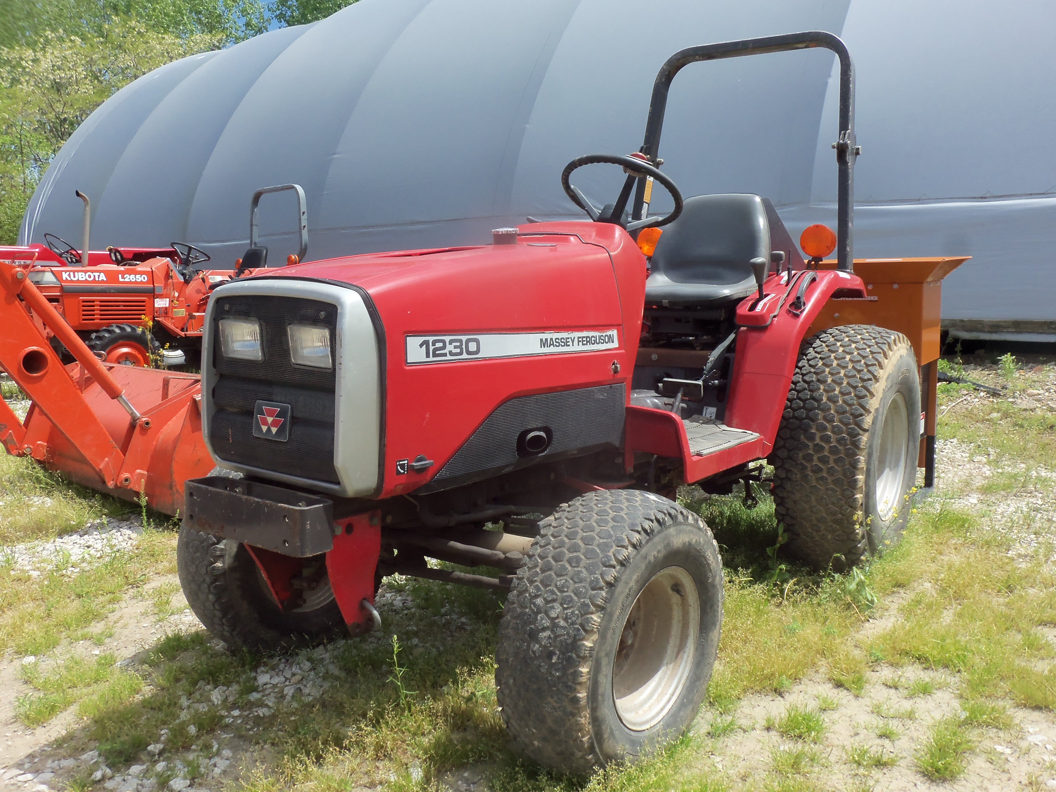 Massey Ferguson 1230 compact diesel tractor | Massey Ferguson ...