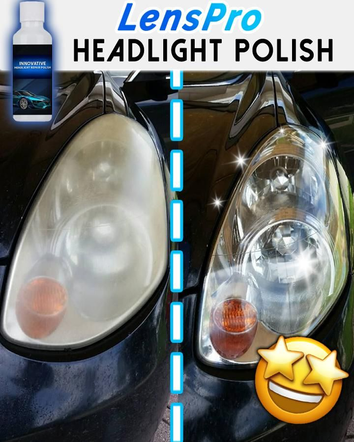 LensPro Headlight Repair Polish