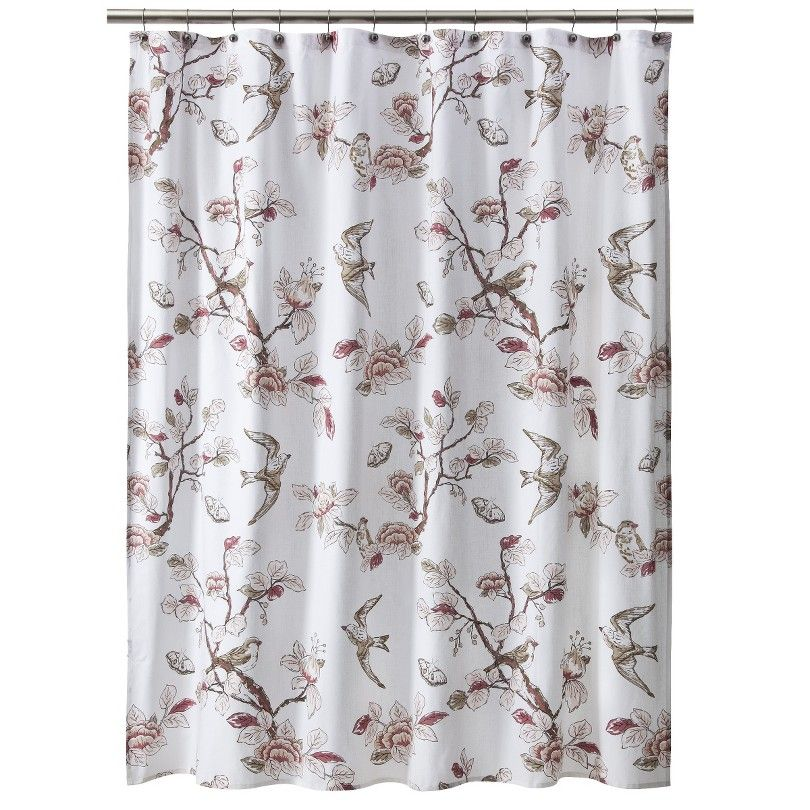 Fantastic Target Bird Shower Curtain Images - Bathroom with ...