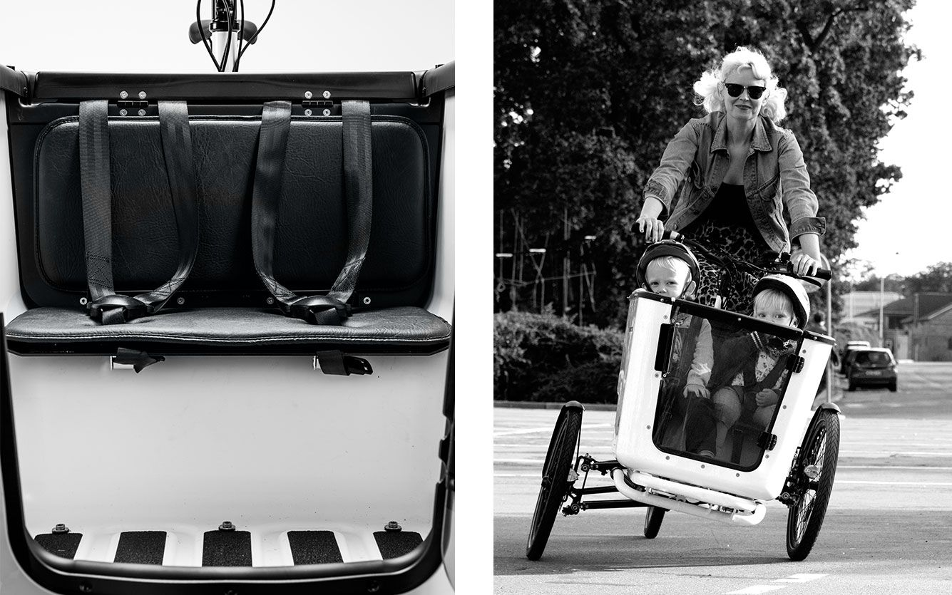 Velo Triporteur Tilt Action Cargo Bike 8 Bike Trailer