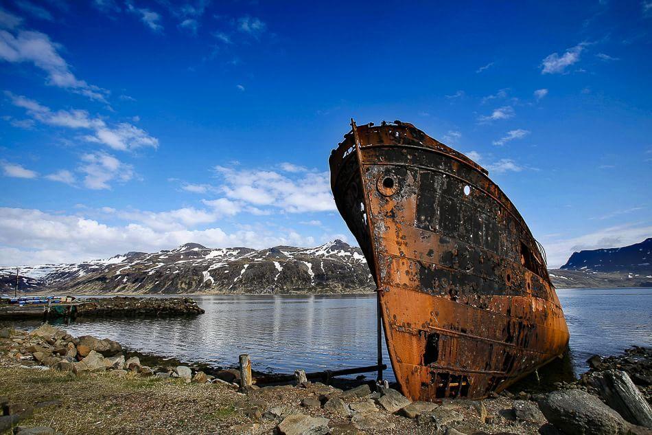 Lislanda dei fiordi occidentali islanda viaggi paesaggi